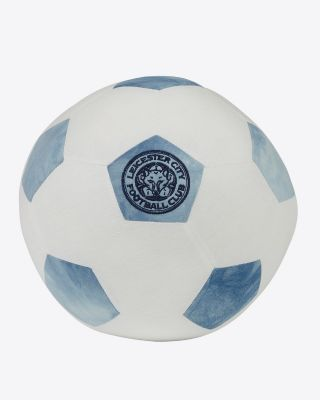 Leicester City White/Blue Plush Ball