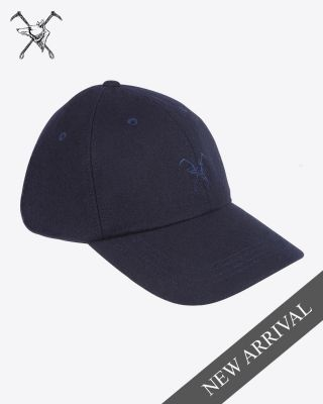 Fox & Crop Navy Cap