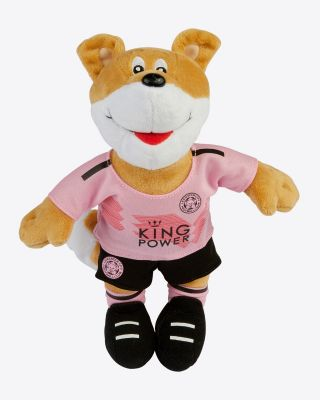 "Leicester City 10"" Pink Away Kit Mascot"