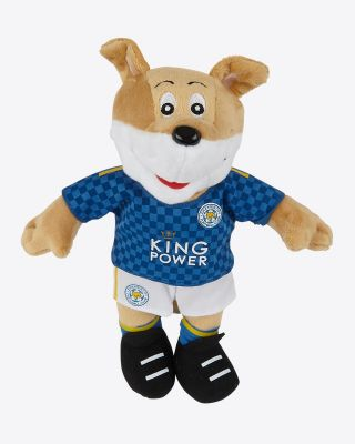 "Leicester City 10"" Home Kit Mascot"