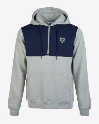 Leicester City Mens Fox Head 1/4 Zip