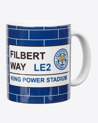 Leicester City Street Sign Mug