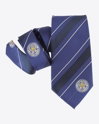 Leicester City Striped Tie