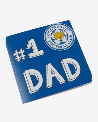 Leicester City No.1 Dad Card
