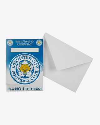 Leicester City No.1 Fan Card
