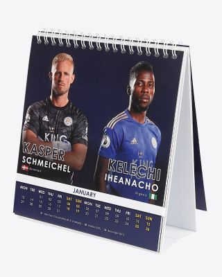 Leicester City Official 2020 Desk Calendar