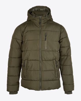 Leicester City Mens Khaki Padded Jacket