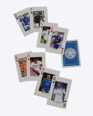 Leicester City Player Edition Playing Cards