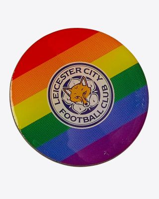 Leicester City Pride Pin Badge