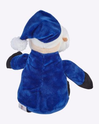 Leicester City Santa Soft Toy