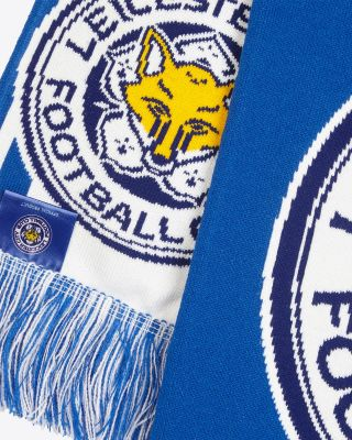 Leicester City Super Crest Scarf
