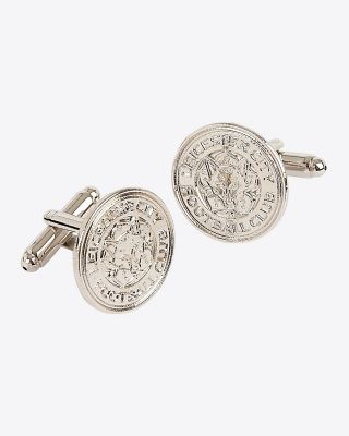 Leicester City Boxed Crest Cufflinks