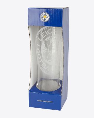 Leicester City Slimline Glass