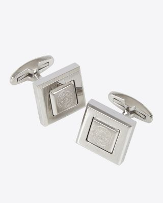 Leicester City Square Cufflinks
