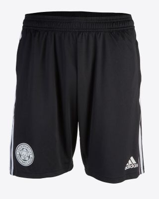 2019/20 adidas Leicester City Junior Black Training Shorts