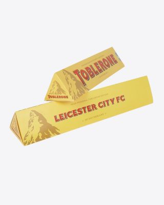 Leicester City Toblerone