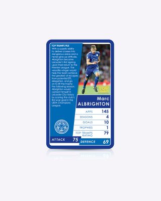 Leicester City Top Trumps