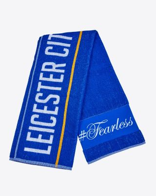 Leicester City Blue Towel