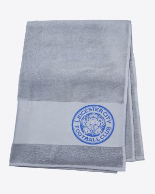 Leicester City Grey Towel