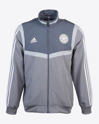 2019/20 adidas Leicester City Adult Grey Training Jacket