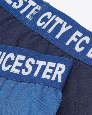 LCFC Mens Twin Pack Boxers