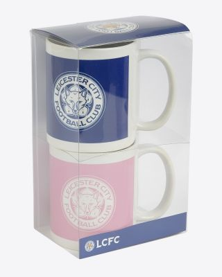 Leicester City Twin Pack Mug