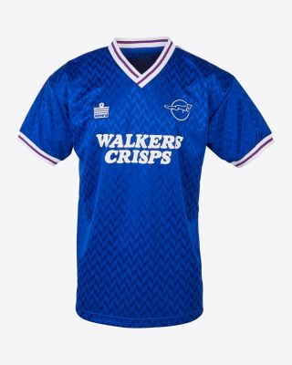 Leicester City Retro Shirt 1987 Home