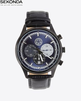 Leicester City Luxury Black Watch