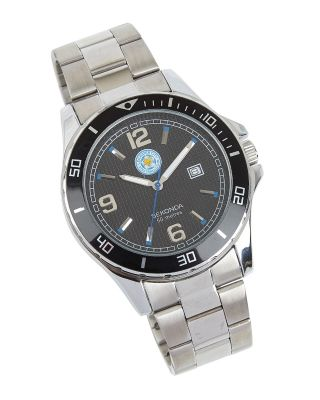 Leicester City Stainless Steel Strap Watch