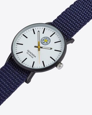 Leicester City Reversible Blue Strap Watch