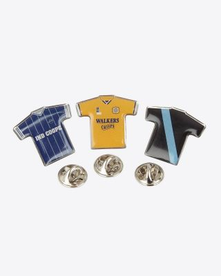 Leicester City Retro Badges - Set 2