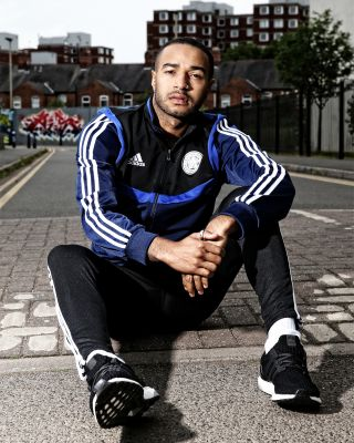 2019/20 adidas Leicester City Adult Navy PES Jacket