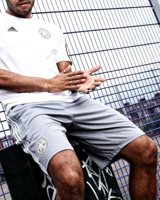 2019/20 adidas Leicester City Adult Grey Training Short
