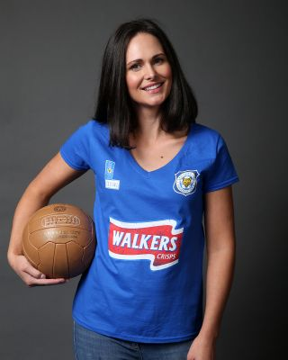 Leicester City Womens Blue Walkers Tee