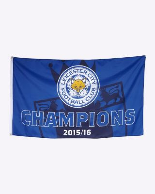 LCFC Boxed Trophy Flag