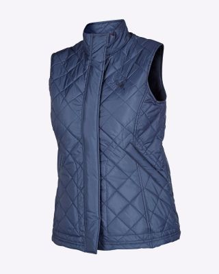 Fox & Crop Womens Quilted Gilet