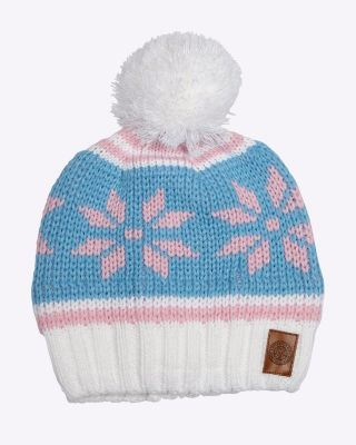 LCFC Womens Beanie Hat Snow flake