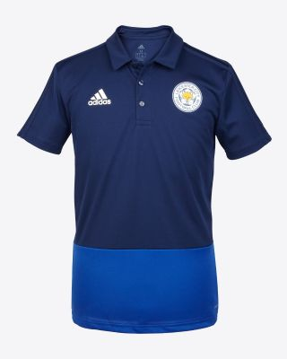 Adidas Adult's Training Polo - Navy/Blue