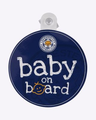 LCFC Baby On Board Sign
