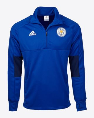 Adidas Child's 1/4 Zip Training Top - Blue