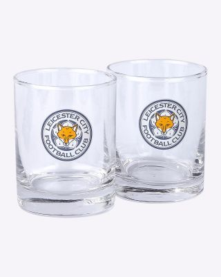 LCFC Glass Tumblers Twin Pack