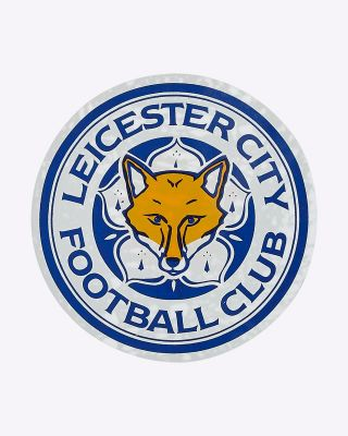 LCFC Small Colour Crest Car Sticker