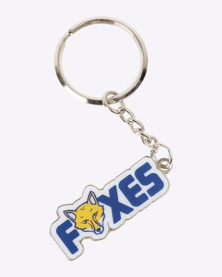 LCFC Keyring Foxes