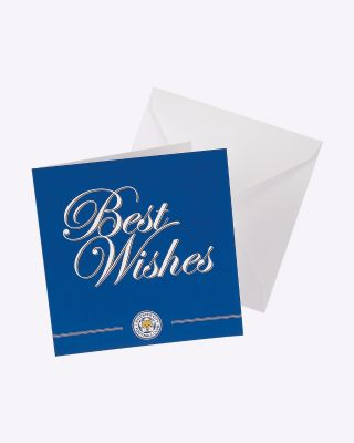 LCFC Greetings Card - Best Wishes