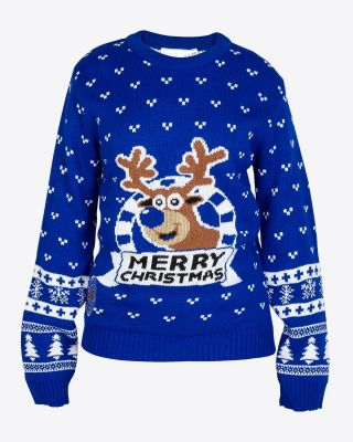 LCFC Childs Christmas Jumper Rudolph