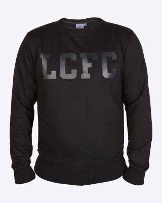 LCFC Mens Black Sweat