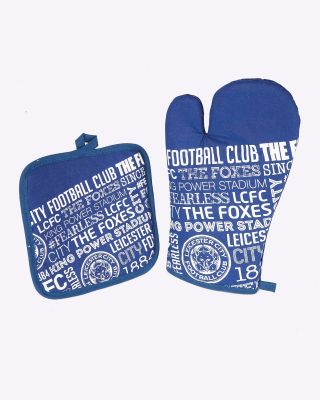 LCFC Pot Stand and Oven Mitt