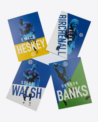 LCFC 4 Pack Retro Posters
