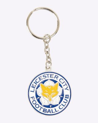LCFC Round Keyring #BEFEARLESS