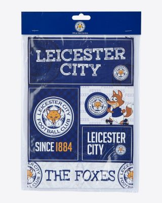 LCFC Stickers Pack Of 5